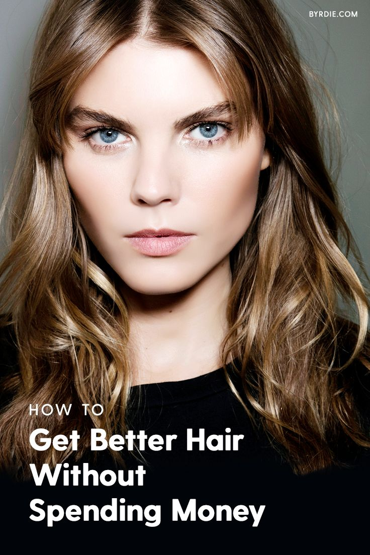 How to get shinier hair