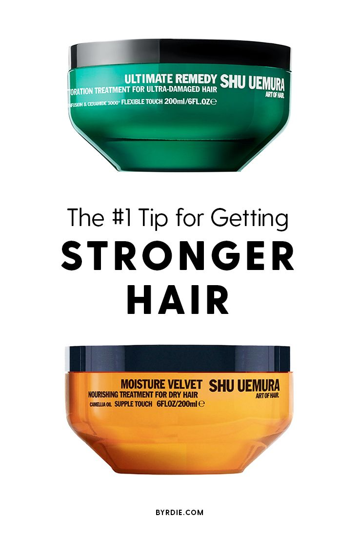 How to get stronger, healthier hair
