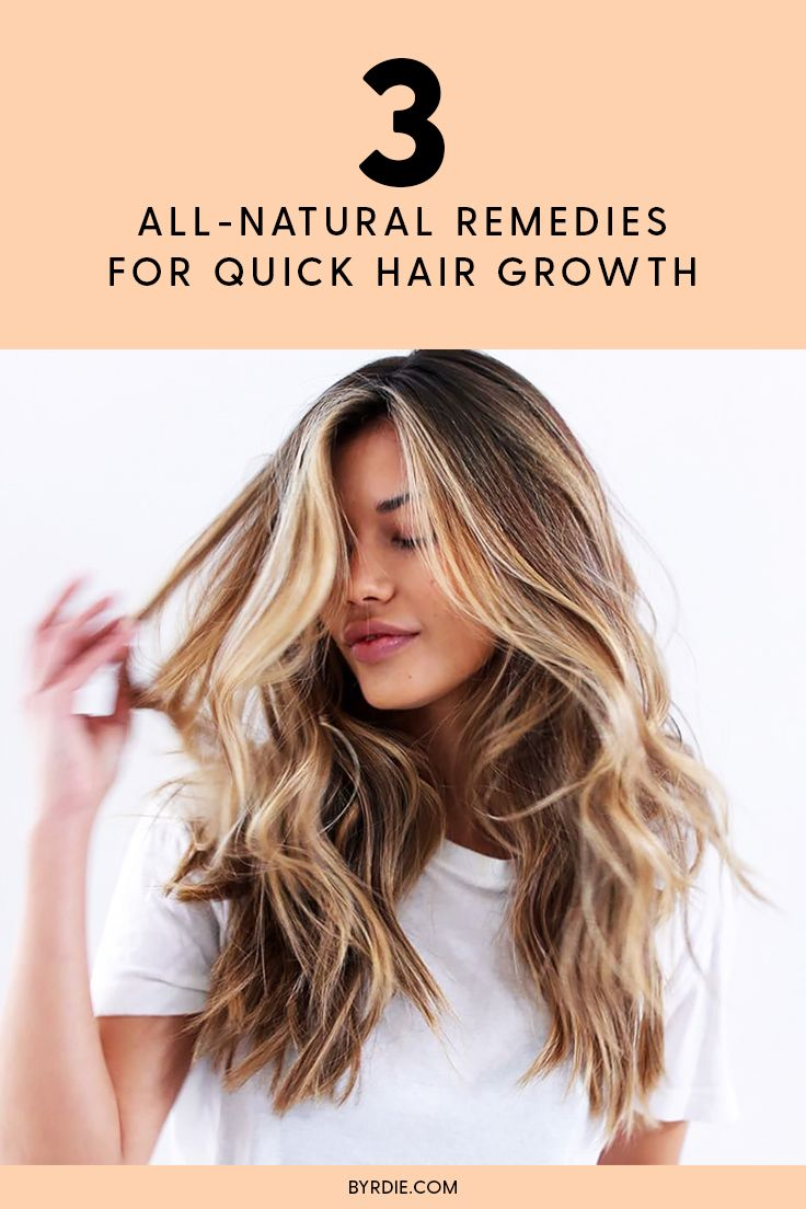How to make your hair grow faster using all-natural remedies