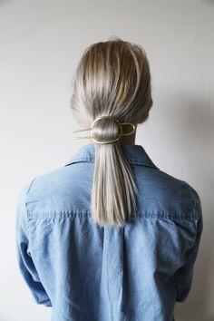 low pony with a stunning accessory