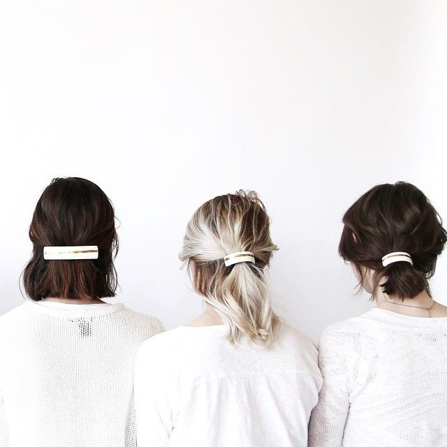 Metal hair bands - the only accessory you need