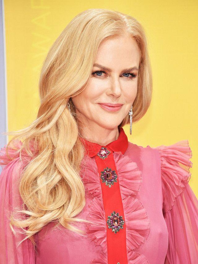 Nicole Kidman's soft curls are so stunning