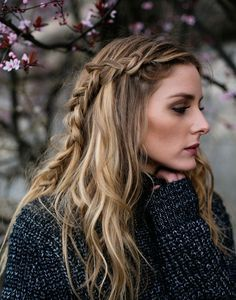 Obsessed with Olivia Palermo's side braid