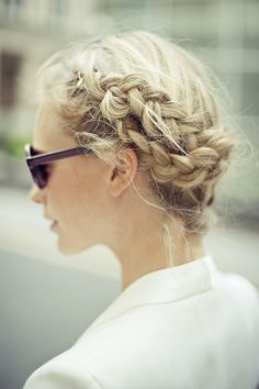 Perfect Heidi braids