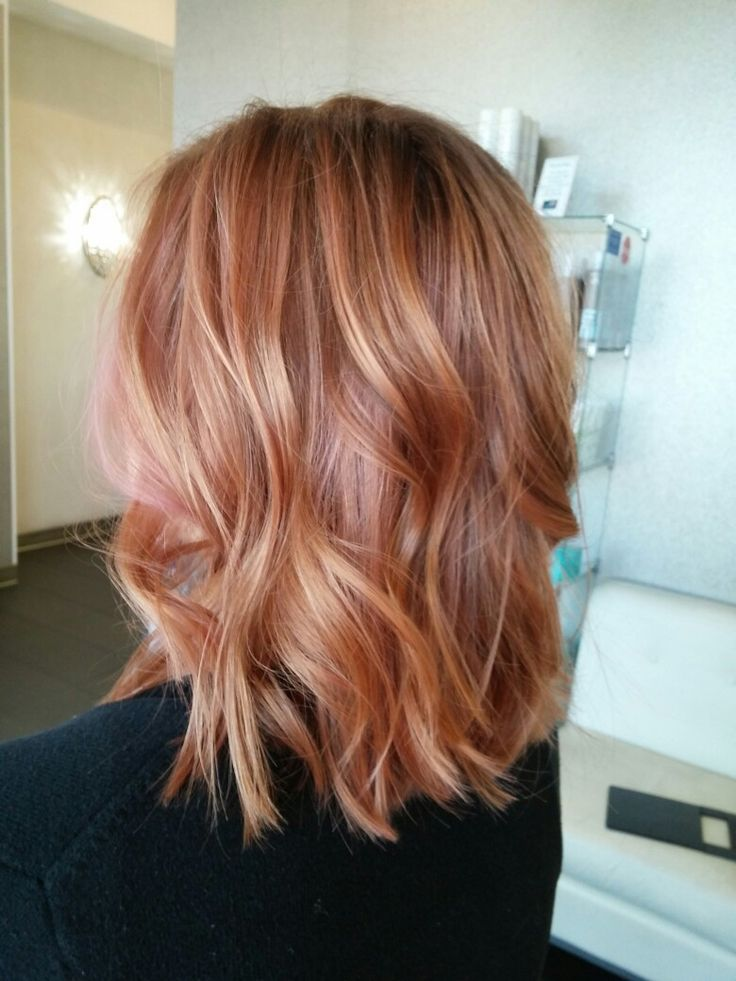 Best Hairstyles For 2017 2018 Rose Gold Hair Flashmode