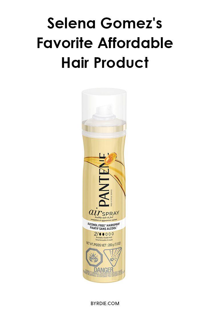 Selena Gomez's favorite drugstore hair product