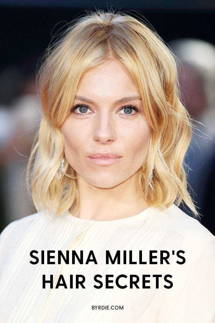 Sienna Miller's best hair secrets