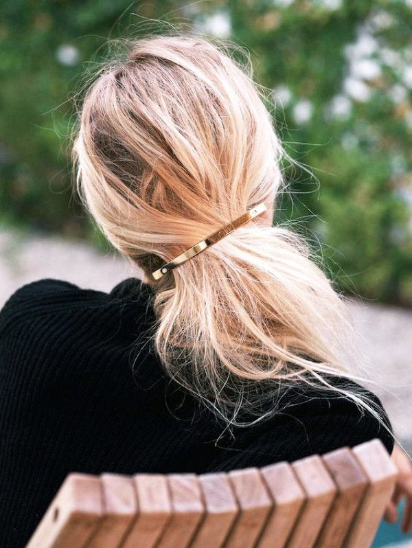 The barrette-and-go