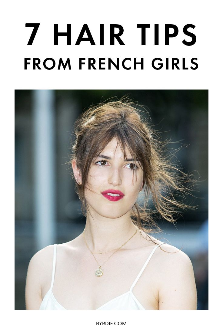 The best French hair tips