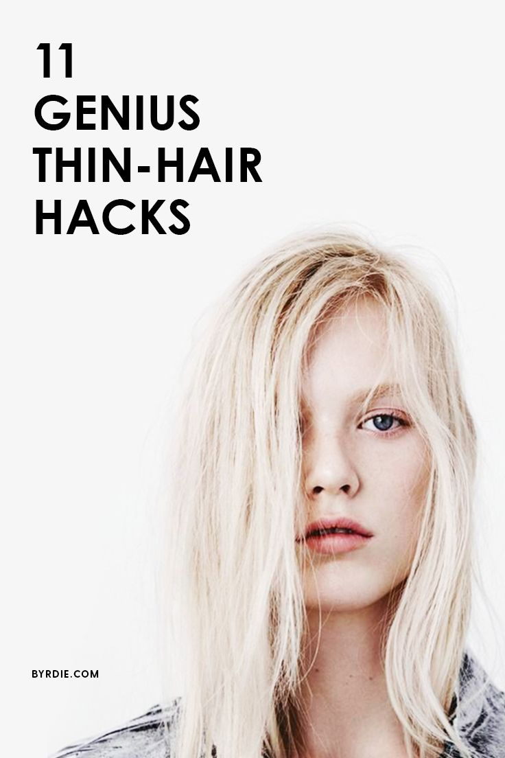 The best hair tips for those with thin hair
