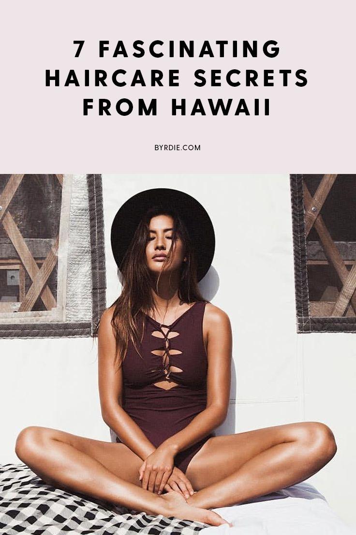 The best Hawaiian haircare secrets