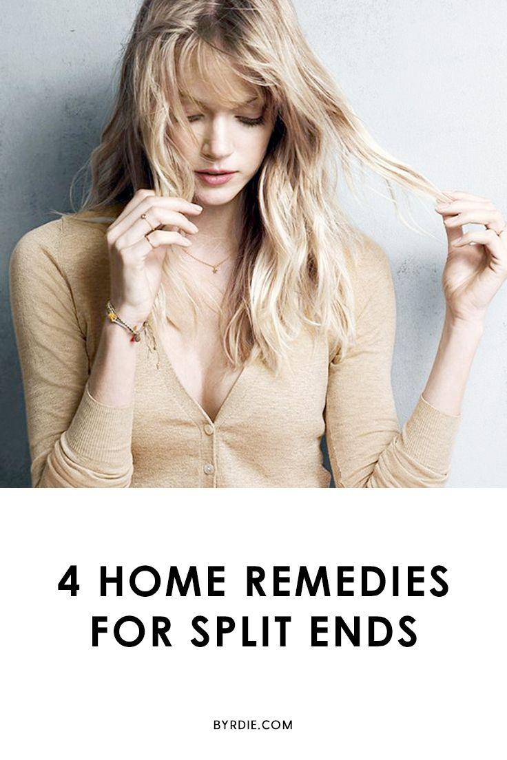 The best home remedies for split ends