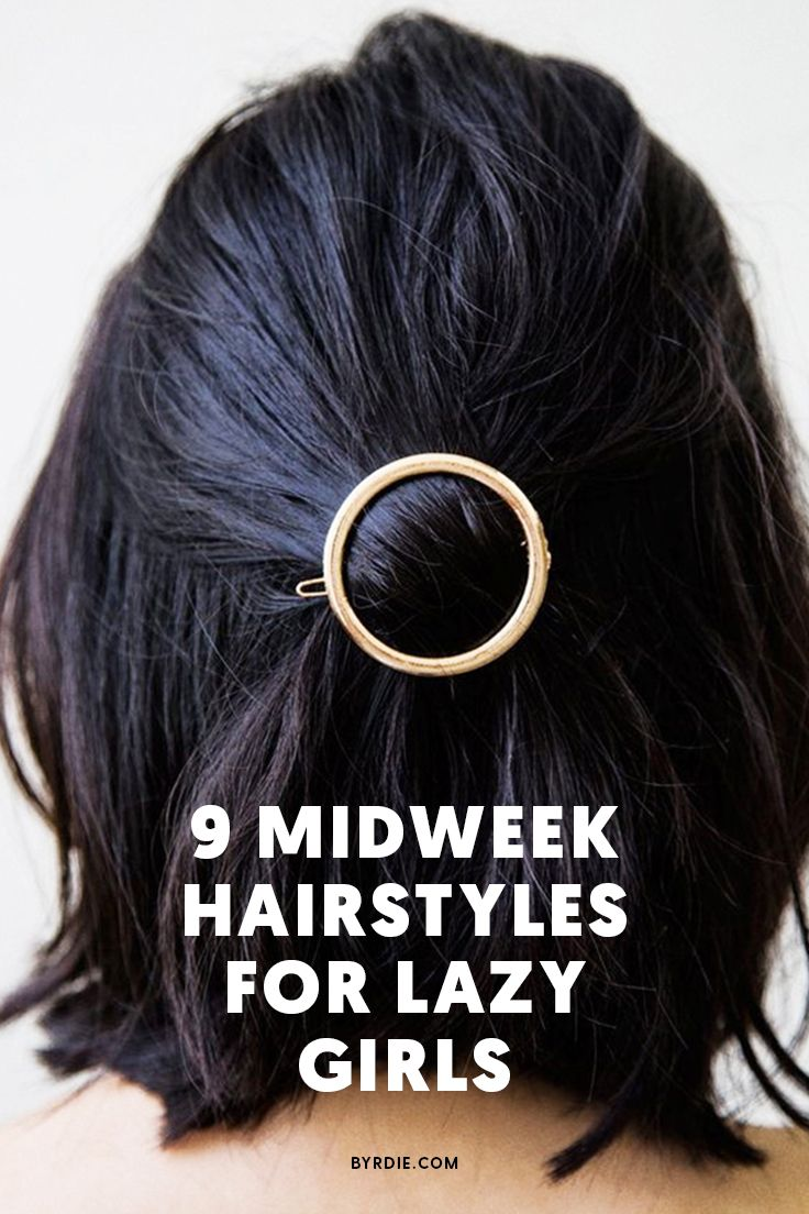 The best midweek hairstyles for dirty hair
