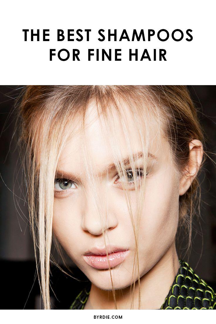 The best shampoos for thin, fine hair