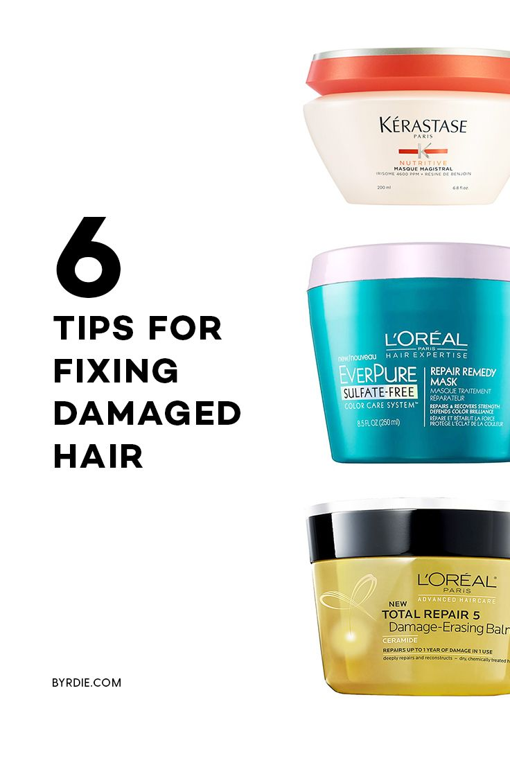 The best tips for repairing damaged hair