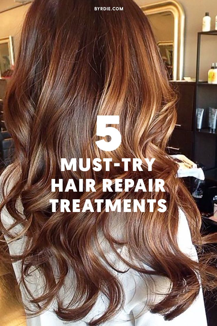 The best treatments to repair damaged hair