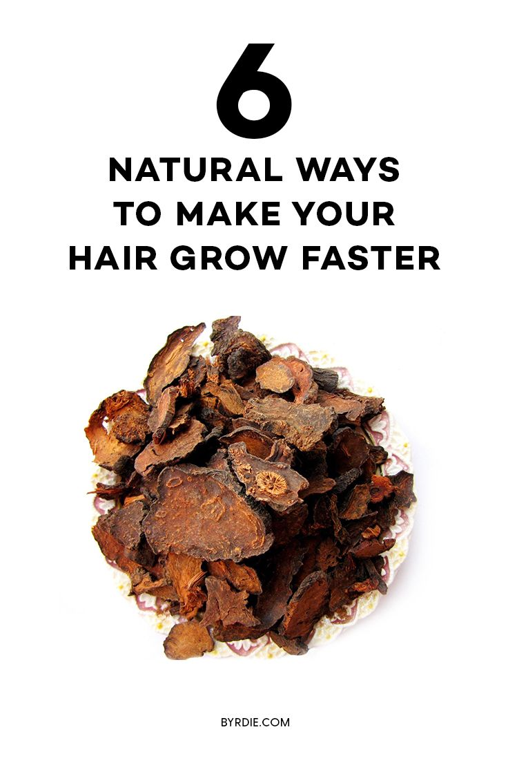 The best ways to make your hair grow faster naturally