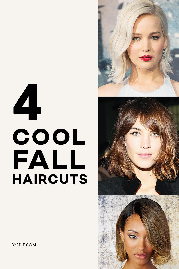 The coolest haircuts for fall
