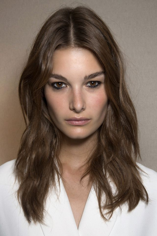The modern shag is the perfect fall haircut because it allows you to wake up wit...