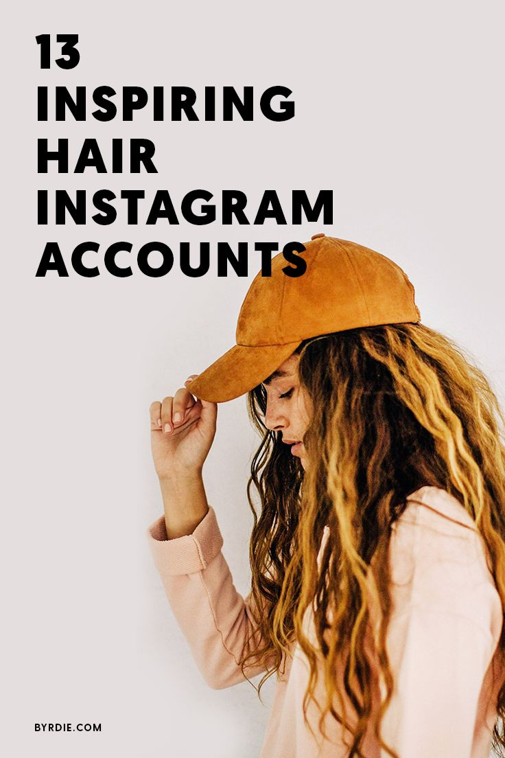 The most inspiring hair accounts on Instagram