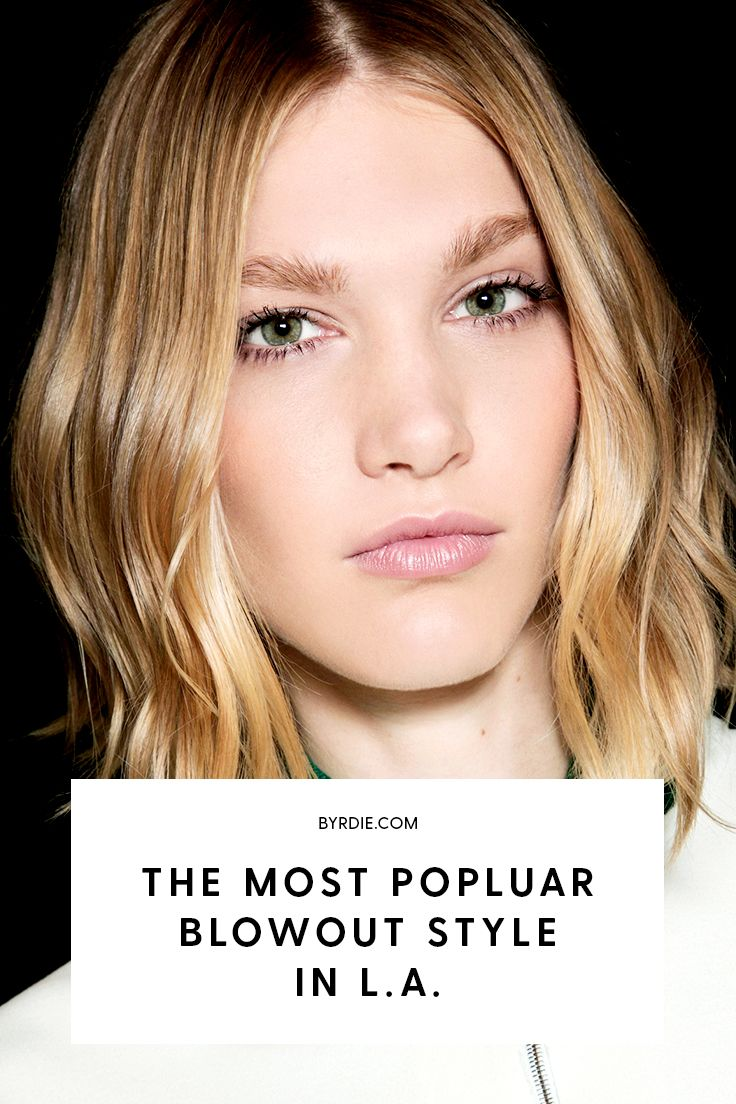 The most popular blowout style in L.A.