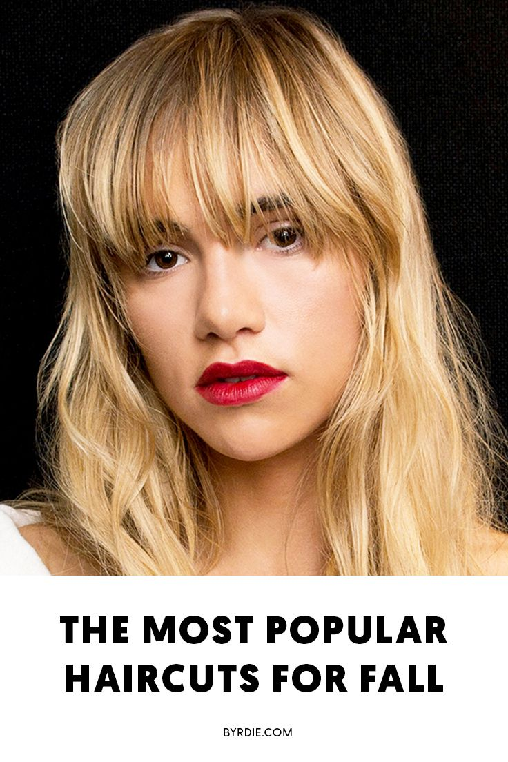 The most popular haircuts for fall