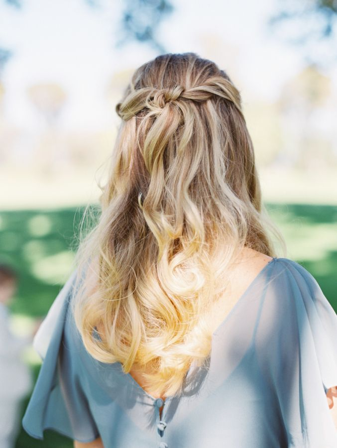 The perfect twisted updo