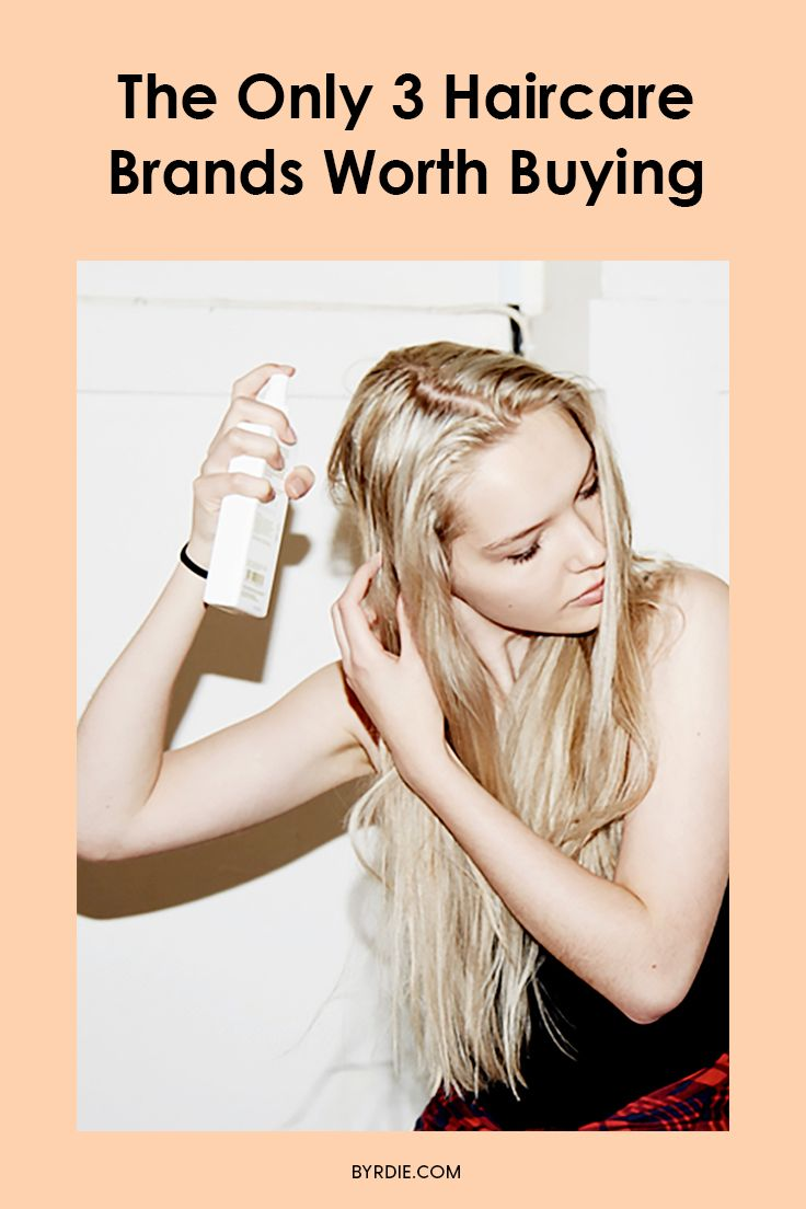 These are the only three haircare brands you should buy, according to a top styl...