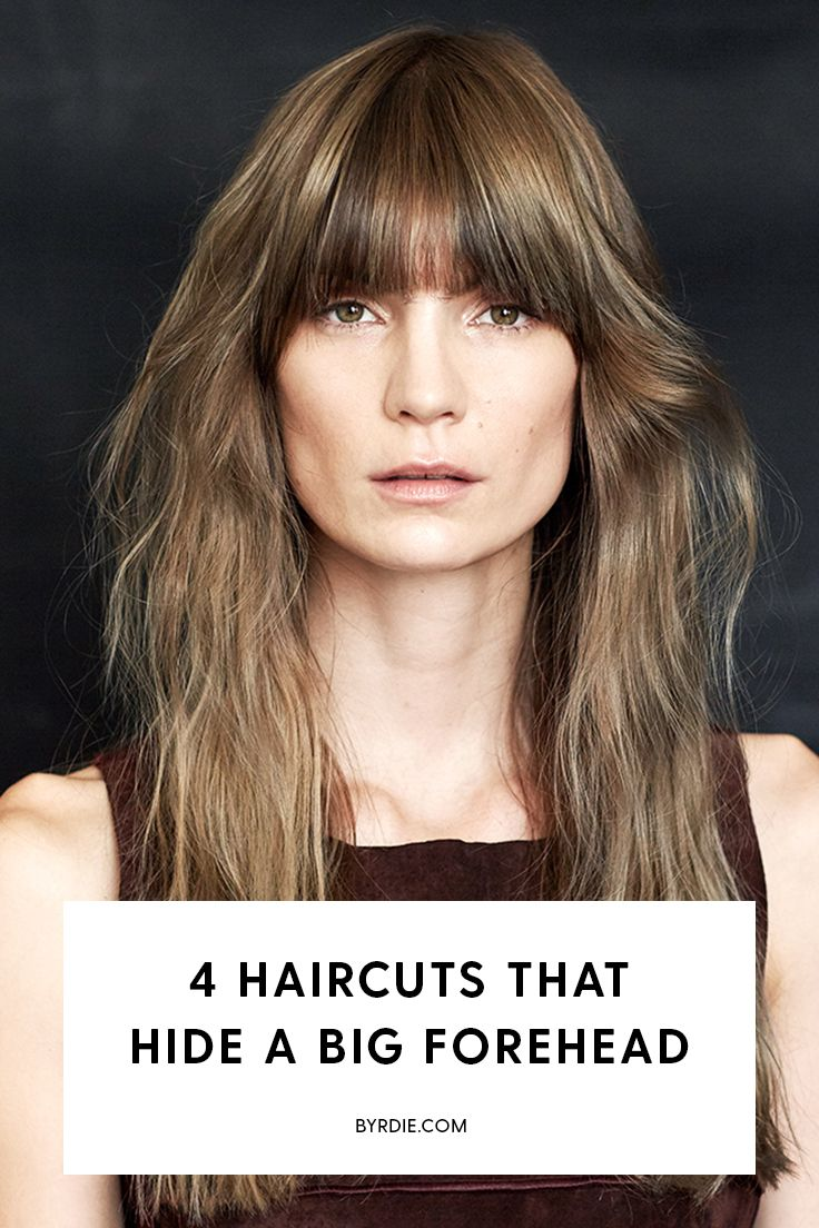 These haircuts will seriously hide your big forehead