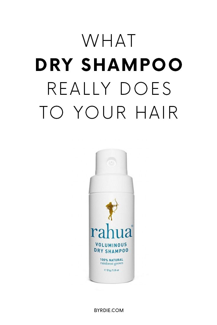 This is what dry shampoo really does to your hair