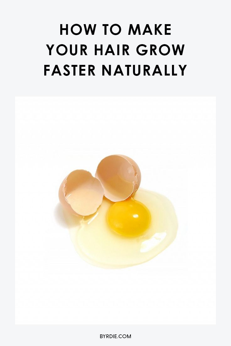 Tricks for making your hair grow faster with natural ingredients, including egg ...