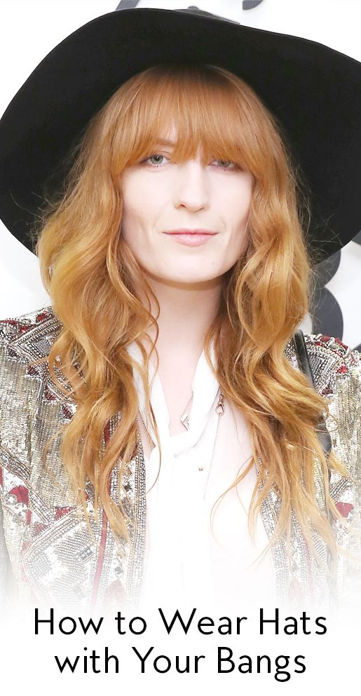 Wearing hats with bangs is seriously hard, so we reached out to a pro to find ou...