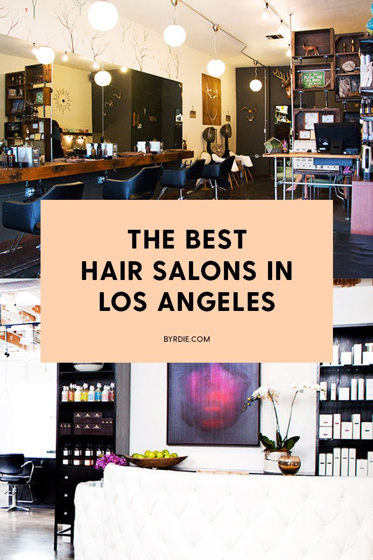 Where cool girls get their hair cut and colored in L.A.