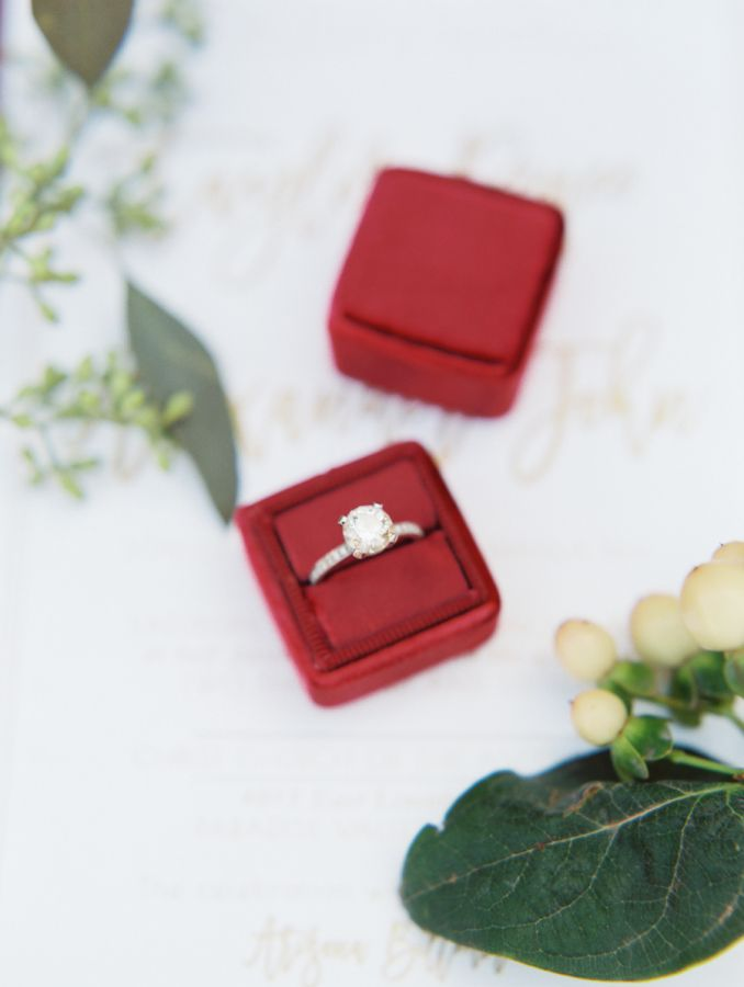 Circle-cut engagement ring: www.stylemepretty... Photography: Rachel Solomon - r...