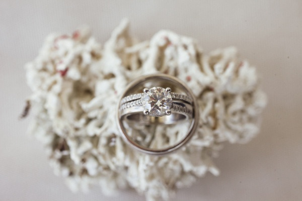 coral infused ring shot  Photography by saraandrocky.com