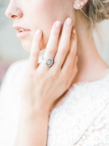 Dazzling Trumpet and Horn engagement ring inspiration: www.stylemepretty... | Ph...
