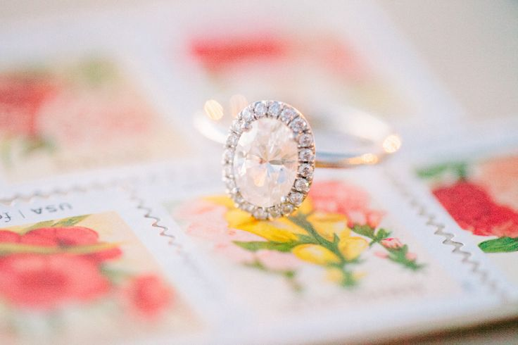 #Engagement Ring | Carly McCray Photography | See the wedding on SMP: www.StyleM...