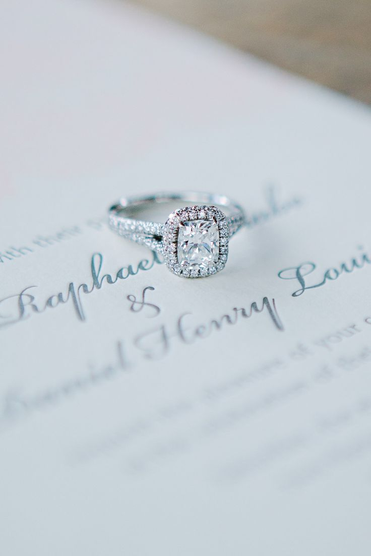 #Engagement Ring LOVE | Tess Pace Photography | See the lucky bride who wears th...