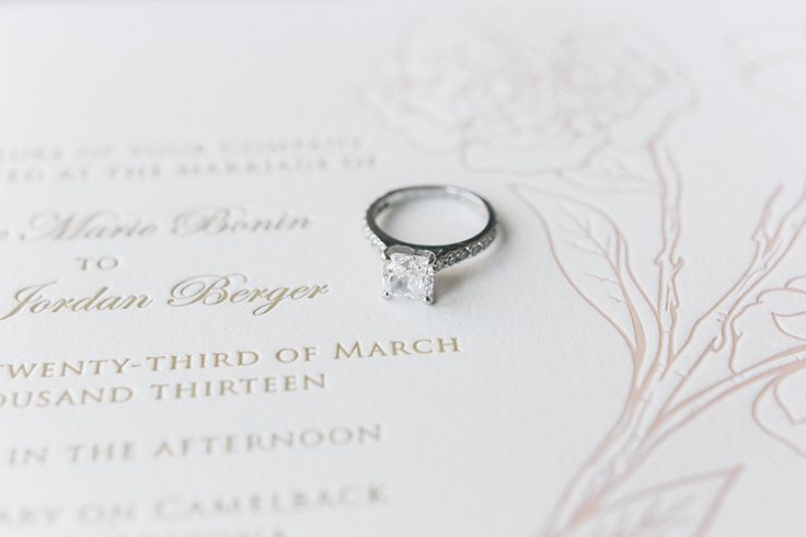 #Engagement Ring | Melissa Schollaert Photography | See More on #SMP: www.stylem...
