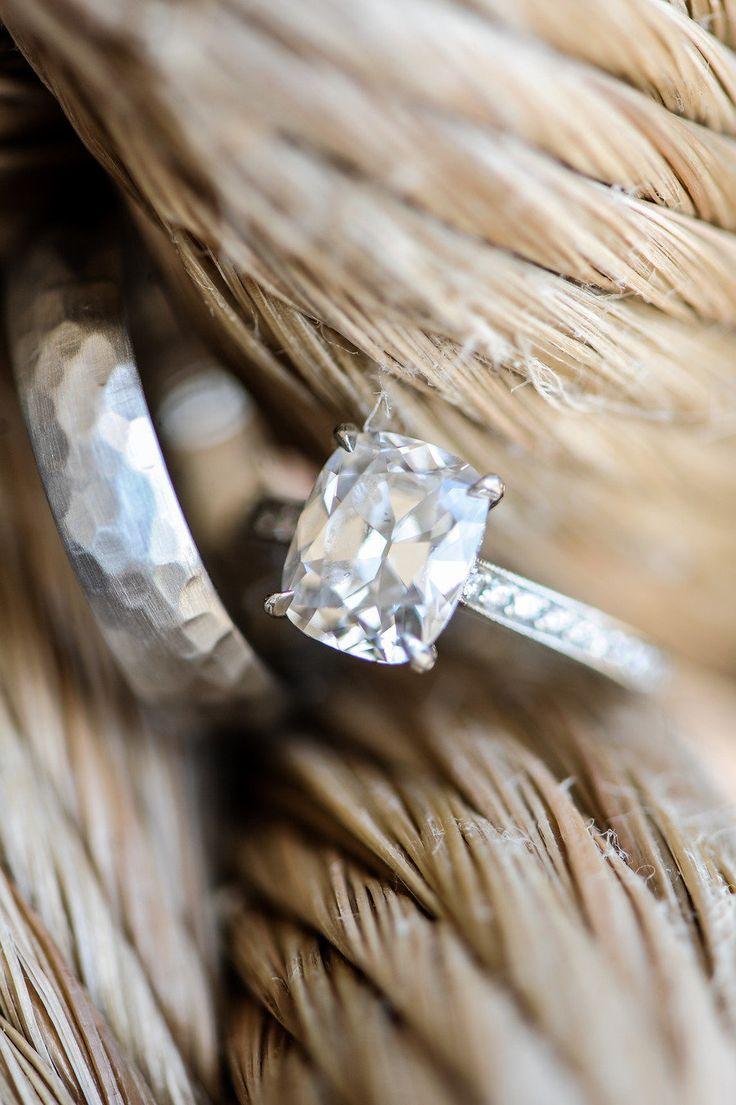 #Engagement Ring | On Style Me Pretty - www.StyleMePretty... Miles Witt Boyer Ph...