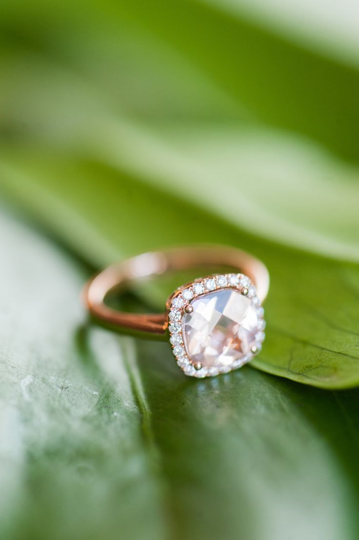 Engagement Ring -- Ooh La La!! See the lucky bride on SMP: www.StyleMePretty... ...