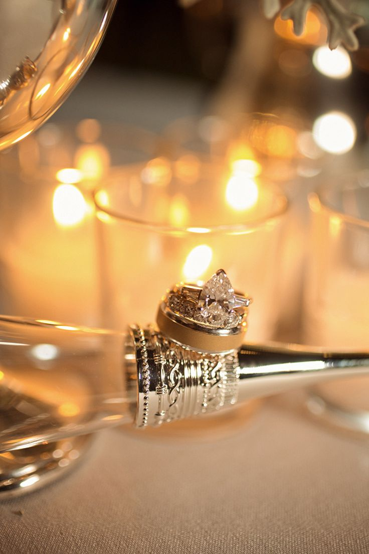 Engagement Ring -- Photography: AndySeoStudio.com -- See the wedding on www.Styl...