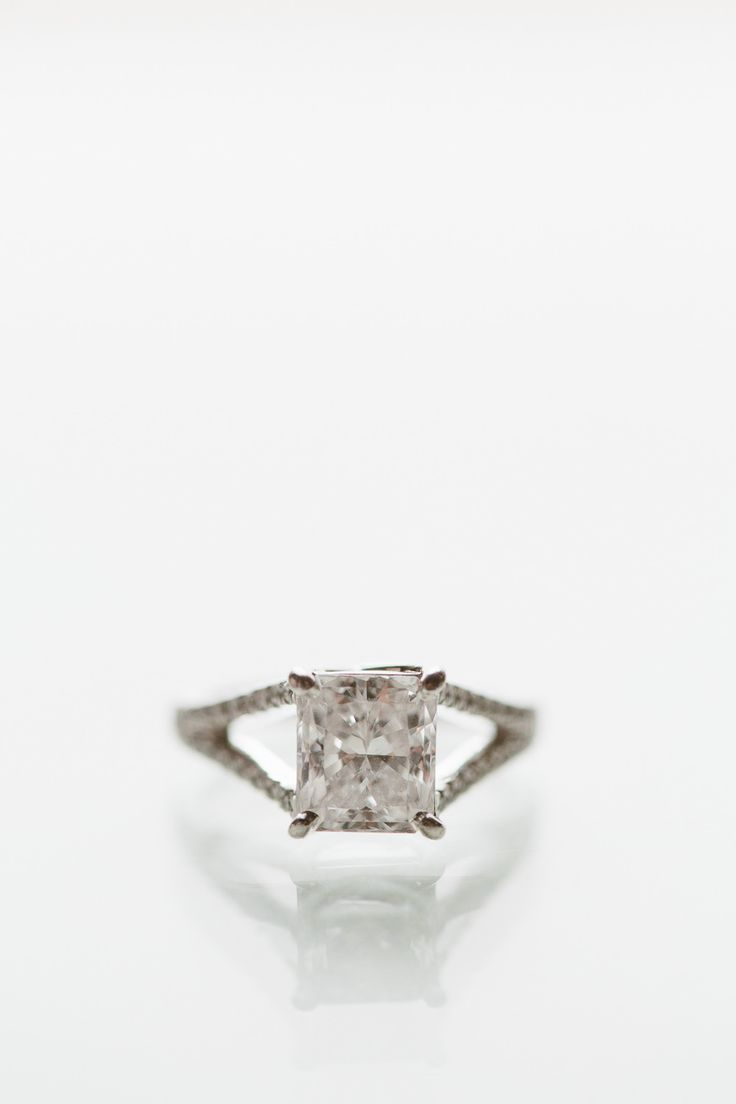 #Engagement Ring | See the wedding on Style Me Pretty:  www.stylemepretty... Hea...