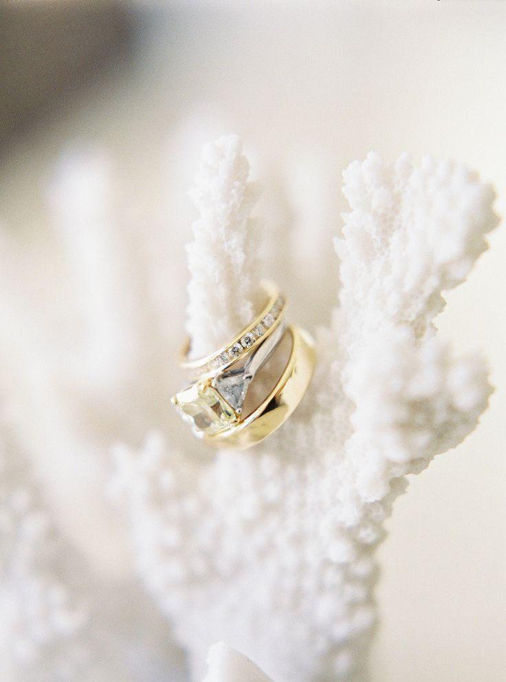 Engagement Ring | Wedding Band | Photography: Landon Jacob Productions | Read Mo...