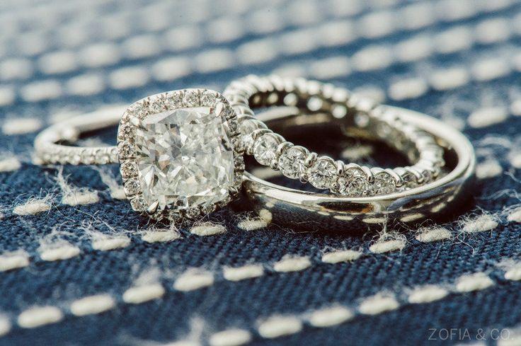 #Engagement Ring #WeddingBand   See the wedding on #SMP Weddings  ~ www.stylemep...