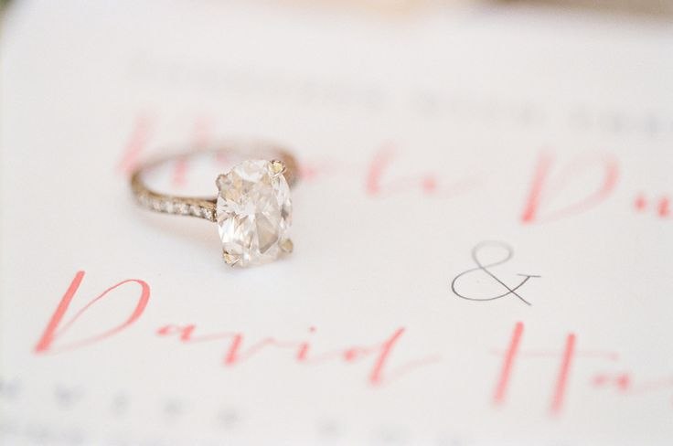 #EngagementRing | Photography: KT Merry  | Wedding on #SMP: www.stylemepretty...