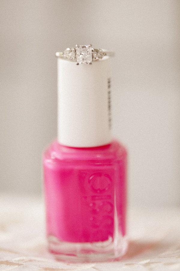 Essie + a Diamond ring  Photography by lovemedophotograp...