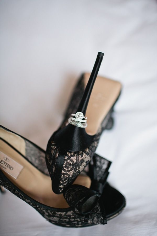 gorgeous rings and lacy Valentinos  Photography by brookelynphotogra...