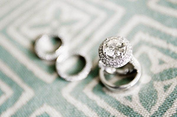Gushing over this halo engagement ring! Photography By / stevesteinhardt.c... De...