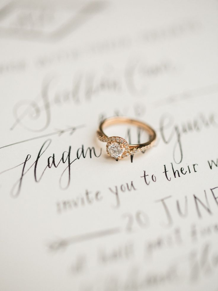 How to avoid losing your engagement ring: www.stylemepretty...